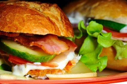 Rancho Chickamonga Sandwich - Grilled Chicken, Avocado, Ranch, Bacon ...