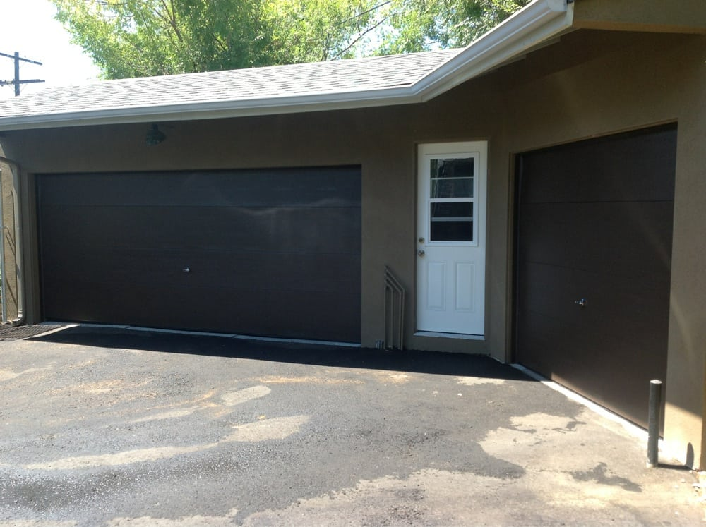 Flush panel doors from amarr garage doors yelp for Archway garage doors simi valley
