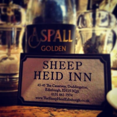 I  Sheep Heid Inn
