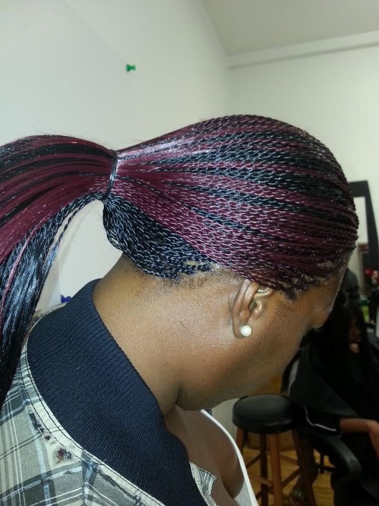 Micro Twist With Human Hair 75