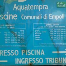 Piscina Comunale Aquatempra Piscine Empoli Firenze Yelp