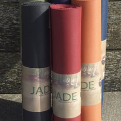 Jade YOGA mats assorted colours Harmony, Travel and Encore, Eco Friendly,  Non -Slip and comfortable from £55.95