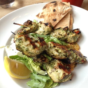Lovely chicken skewers