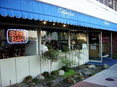 California beach sushi restaurant gesloten newport for Cafe jardin newport beach