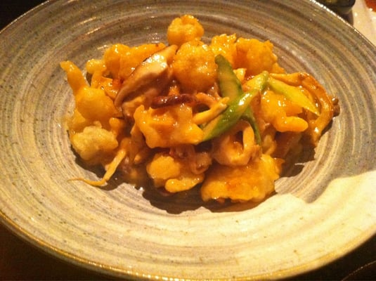 Creamy rock shrimp tempura appetizer | Yelp