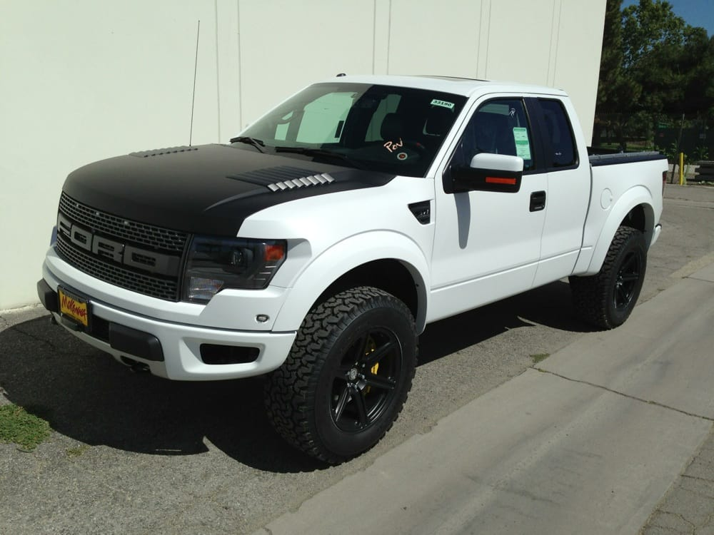 2013 Ford Raptor Complete Matte Clearbra Ppf Whole Truck