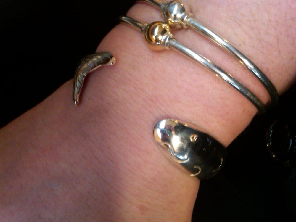 Only the first bracelet the herring fish is from for Cape cod fish bracelet