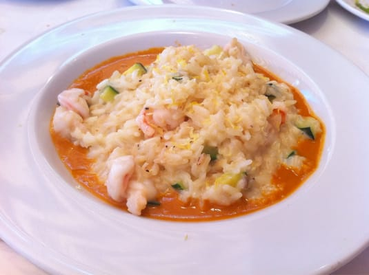 risotto with zucchini shrimp and lobster sauce | Yelp