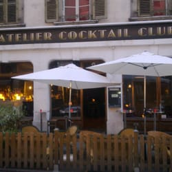 L'Atelier Cocktail Club, Eaux-Vives, Genève, Switzerland