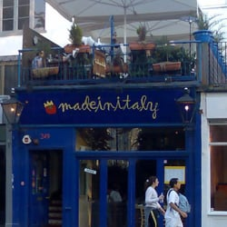 Made in Italy, London