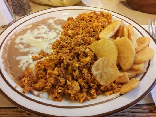 Huevos Rancheros Con Chorizo Huevos Ranchero...
