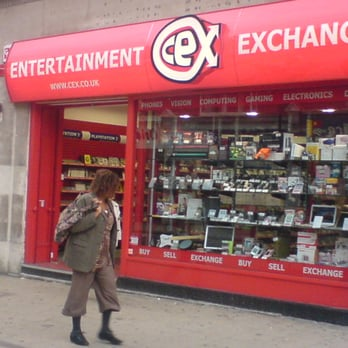 New CEX shop in George Street