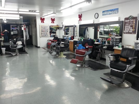 Hollywood Barber Shop - Barbers - East Hollywood - Los Angeles, CA ...