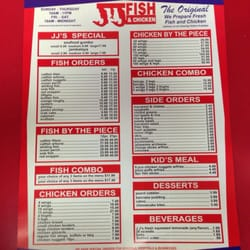 Jj fish and chicken closed stockton ca united states for Manhattan fish and chicken menu