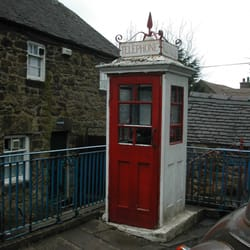 old phone box