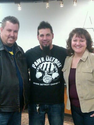 Me and the wife with rick yelp for American jewelry and loan 8 mile detroit