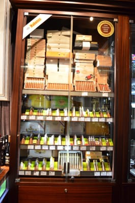 The connoisseur humidor at JJ Fox Dublin