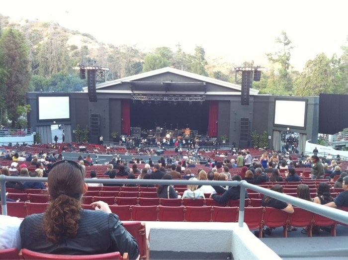 Section c row d seat 130 goo goo dolls concert yelp for What s playing at the terrace theater