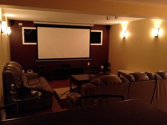basement theatre room open style yelp