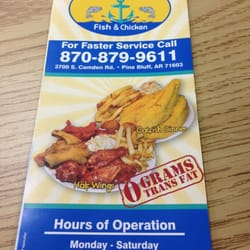 Oceans Fish & Chicken - Chicken Wings - Pine Bluff, AR - Reviews - Photos - Yelp