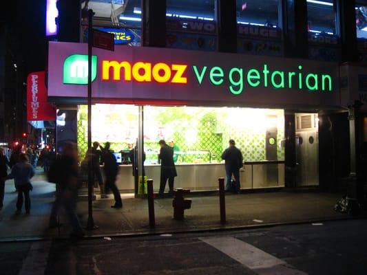 Vegetarian restaurants nyc midtown west