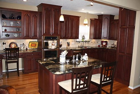 Custom Amish Built Wood Kitchen Cabinets Denver CO Yelp