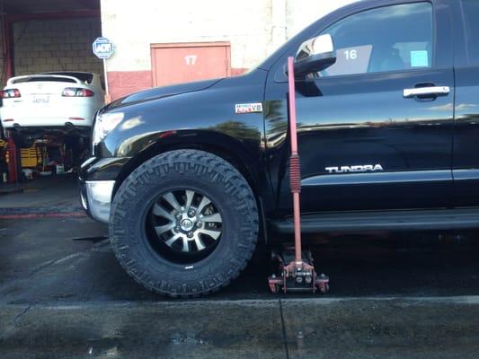 Tow Hitch Installation Near Me >> Lifting a Toyota Tundra 4x4 | Yelp