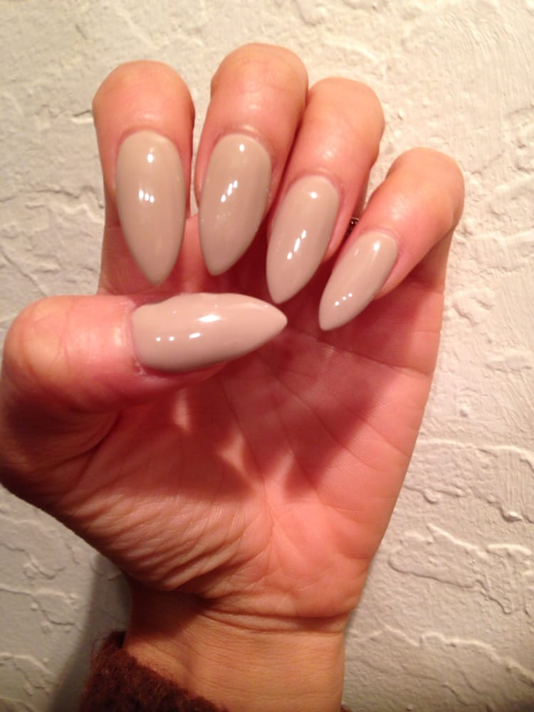 Love my long and pointy nails! They did a great fill on my ... - photo#16