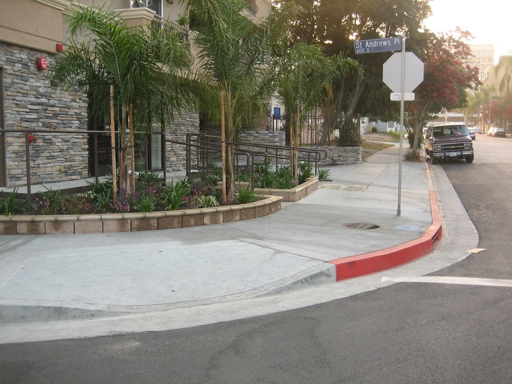 Public Works Contractor A Licensed Ada Ramps Curb And