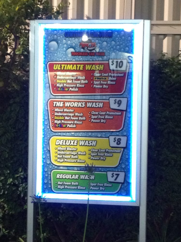 Touchless Car Wash Options