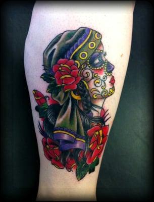 Gypsy sugar skull by Shannon | Yelp  Gypsy sugar sku...