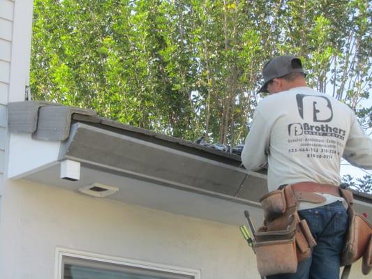 Brothers Sheetmetal Amp Rain Gutters Roofing Sherman