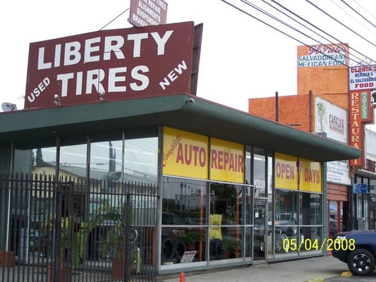 Bent Rim Repair Near Me >> Liberty Tires & Auto Center - Tires - Los Angeles, CA