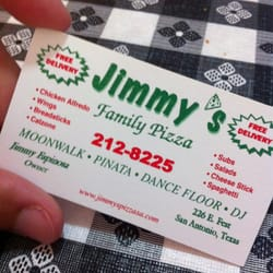 Jimmy's Family Pizza logo