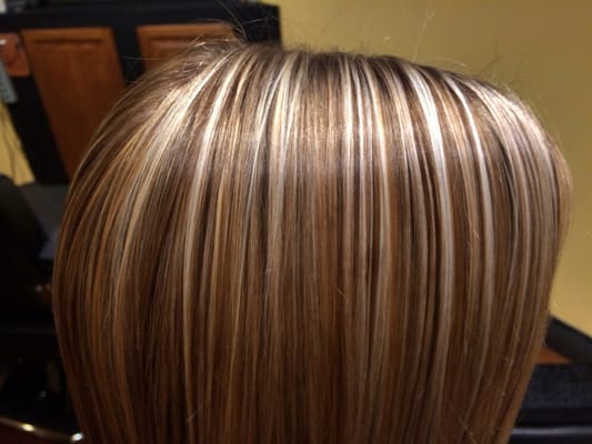 Buttery Blonde Highlights With Lowlights Stylist Brianna