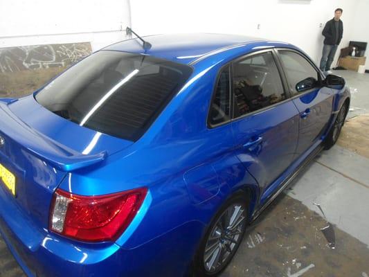 2012 Subaru Wrx Tinted W 35 Ceramic Heat Rejection Film