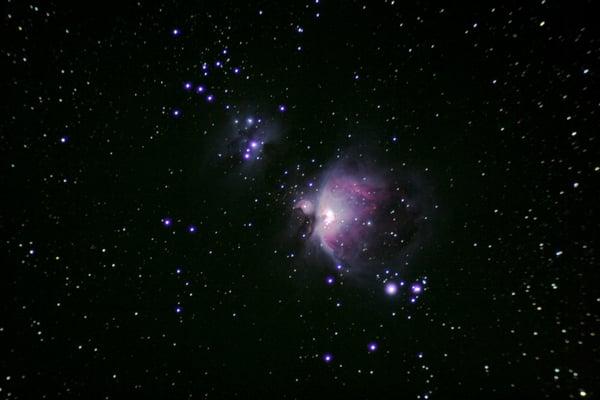 orion nebula through binoculars - photo #29