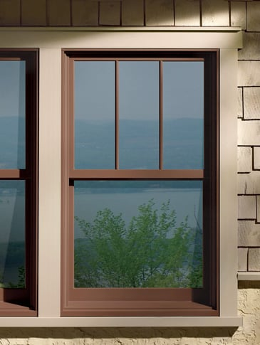 Andersen 400 Series Double Hung Windows Fractional Grids
