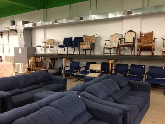 The Habitat For Humanity Restore Building Supplies
