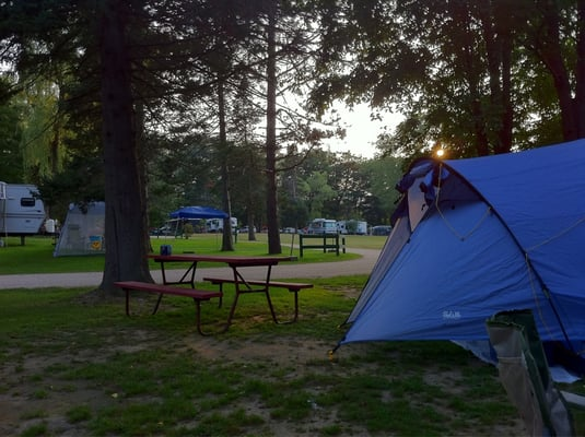 Saco River Camping Area Campgrounds North Conway Nh