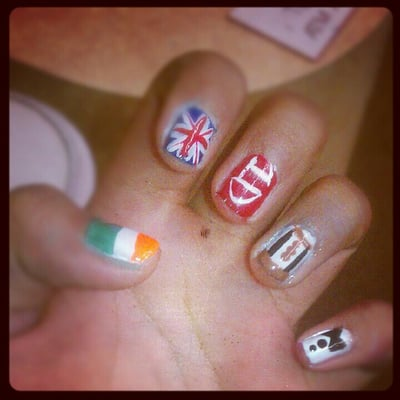 One Direction Nail Designs Yelp