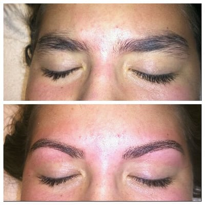 Before & After (Brow wax)   Yelp
