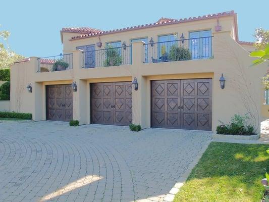 Spanish Style Carriage House Garage Doors Yelp