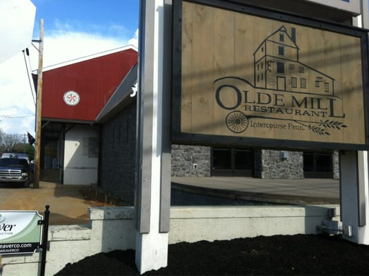 Olde Mill Restaurant In Intercourse Pa