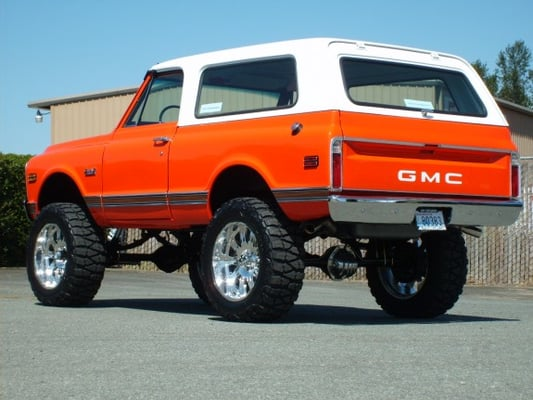 Chevy Tahoe For Sale Near Me >> SOLD!! AMAZING FRAME OFF 1971 GMC JIMMY. | Yelp