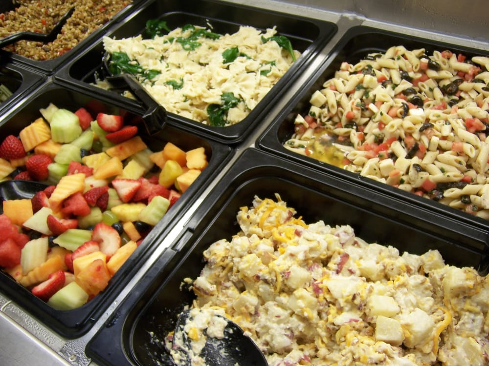 Fresh Salad Bar toppings | Yelp