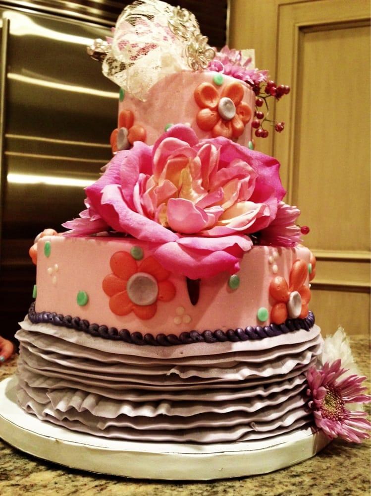 Quot Fancy Nancy Quot Themed Birthday Cake Yelp