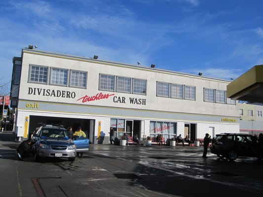 Touchless Car Wash Daly City: St Joseph Hospital: Divisadero Car Wash
