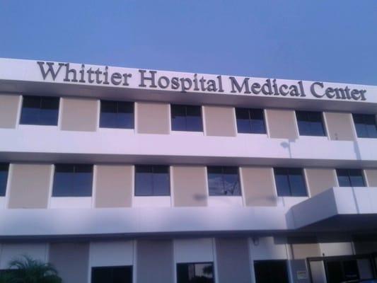 Whittier Hospital Medical Center Hospitals Whittier