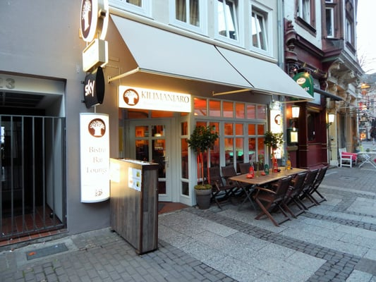 Kilimanjaro Restaurant Bar Bistro Hannover Sky Sportsbar